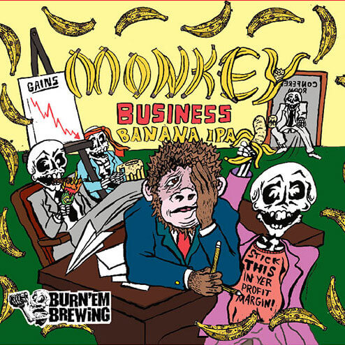 Monkey Business Banana IPA