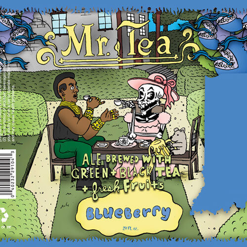 Mr. Tea Blueberry