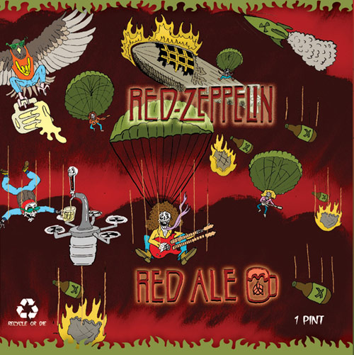 Red Zeppelin Red Ale