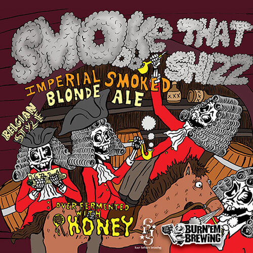 Smoke That Shizz Imperial Smoked Blonde Ale